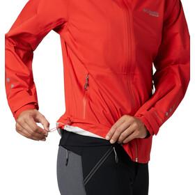 Columbia Titan Pass 2,5-warstwowa kurtka Kobiety, bold orange